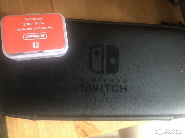 Nintendo Switch прошитая + донгл + SD128гб + чехол купить в Москве