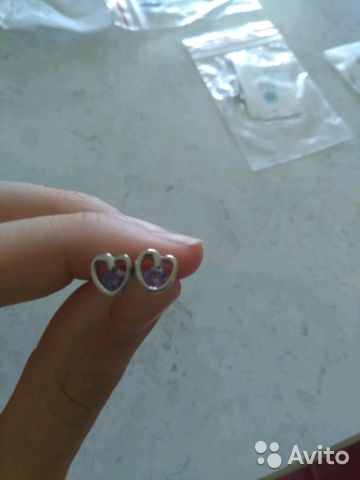 Сережки гвоздики 89199813547 купить 1