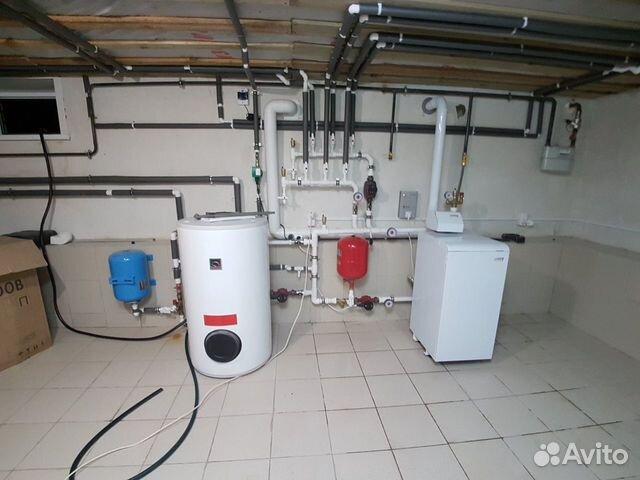 Монтаж теплых полов, отопления, канализации