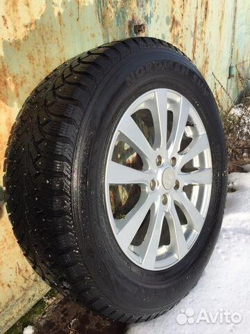 Комплект зимних колес на кроссовер  89825528614 купить 4