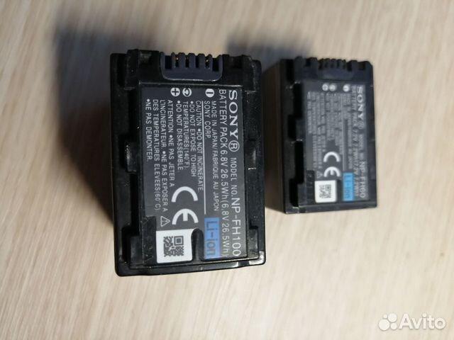 Аккумуляторы sony NP-FH100, NP-FH60 89878209990 купить 2
