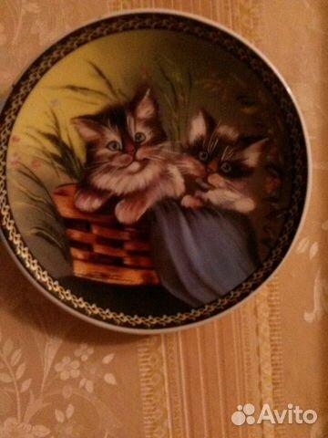 Настенная тарелочка 89026486660 купить 3