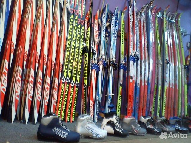 Беговые лыжи детям в школу и прогулок купить в Санкт-Петербурге на ... 5655ca28e32