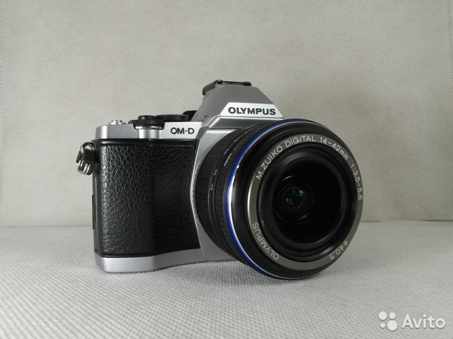 Olympus E-M5 OMD 14-42