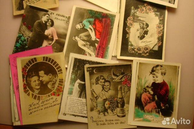 Цена открытки 1940 года