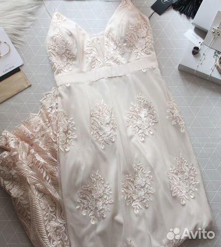 89229092100 Элегантное платье Adrianna Papell