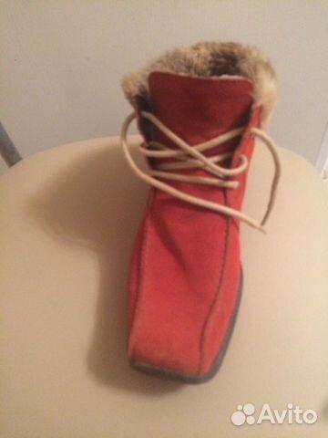 Ботинки Reaker натуральный замш, на меху, в очень 89204029036 купить 3