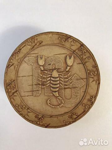 Шкатулка из бересты, «Знаки зодиака» - Скорпион