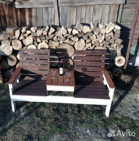 Лавка садовая деревянная  89378211314 купить 2
