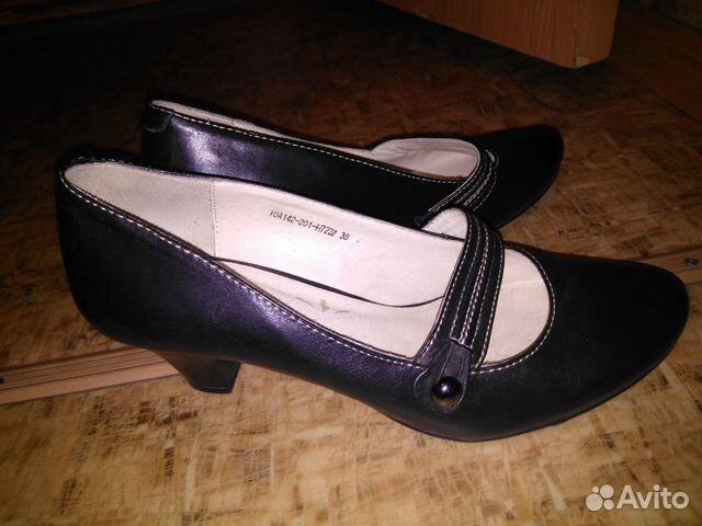 Туфли кожаные женские 89834308161 купить 1