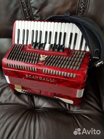 Итальянский аккордеон 3/4 Scandalli 89874591553 купить 2