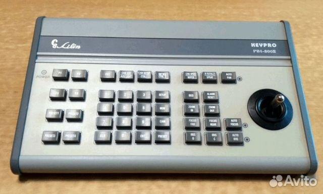 PIH-800-II.Пульт управления матричным коммутатором