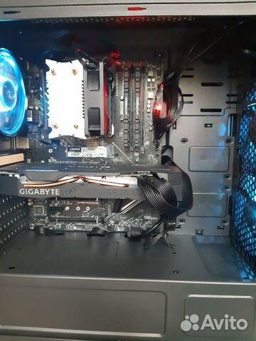 Новый игровой компютер на Ryzen 7 2700x/RTX 2070