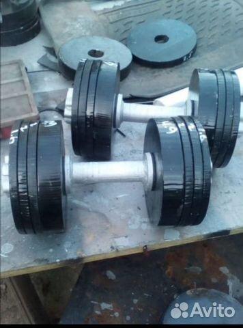 Гантели 20,22,32,42 кг