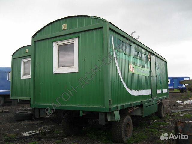 Вагон-дом на шасси жилой 8 мест Комфорт-С 89115748339 купить 4