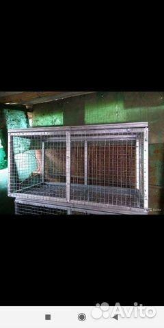 Клетки для содержания кроликов птиц и цыплят 89898713107 купить 10