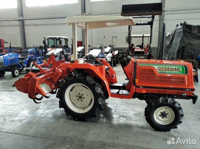 Трактор hinomoto N209  купить 4