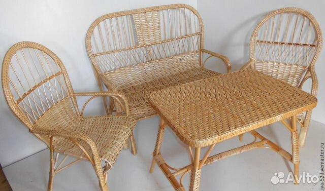 Комплект плетеной мебели  89805310848 купить 8