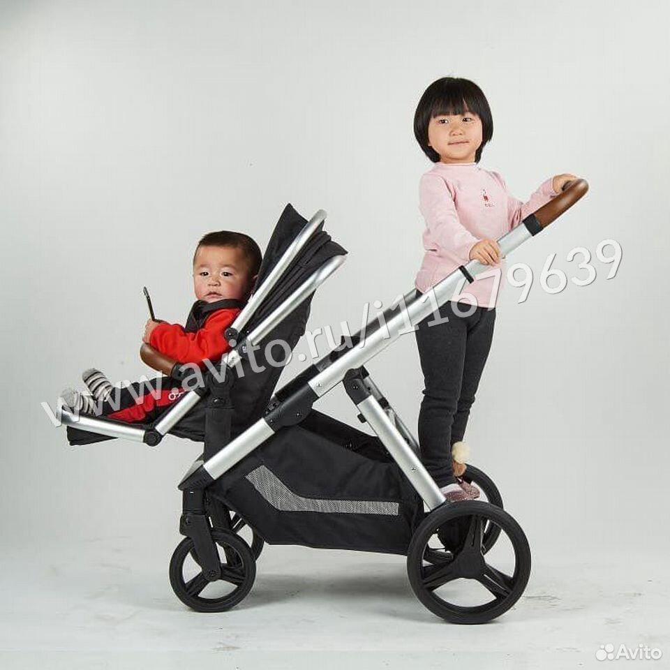 Babytime: Коляска 2в1 Luxmom  89379596995 купить 1