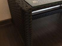 Столик из ротанга новый