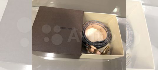8c54891125fb Ремень Louis Vuitton оригинал новый купить в Москве на Avito — Объявления  на сайте Авито