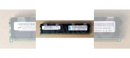 16Gb DDR3 ECC REG PC3L-8500R / IBM 49Y1528 купить в Москве | Бытовая электроника | Авито