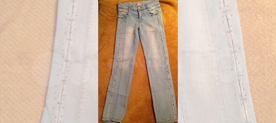 80b915c037d Голубые джинсы со стразами купить в Москве на Avito — Объявления на сайте  Авито