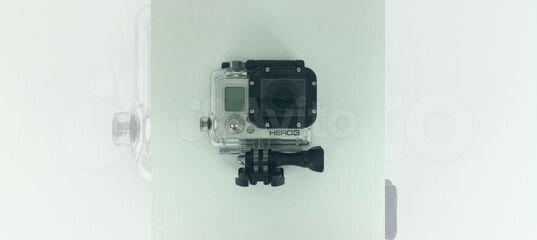 Экшн-камера GoPro Hero3 (коробка, пульт, ориг. USB купить в Самарской области | Бытовая электроника | Авито