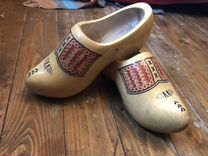 Деревянные башмаки из Голландии — Одежда, обувь, аксессуары в Санкт-Петербурге