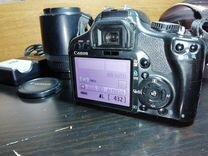 Комплект Canon 450d плюс Sigma af 55-200, штатив — Фототехника в Москве
