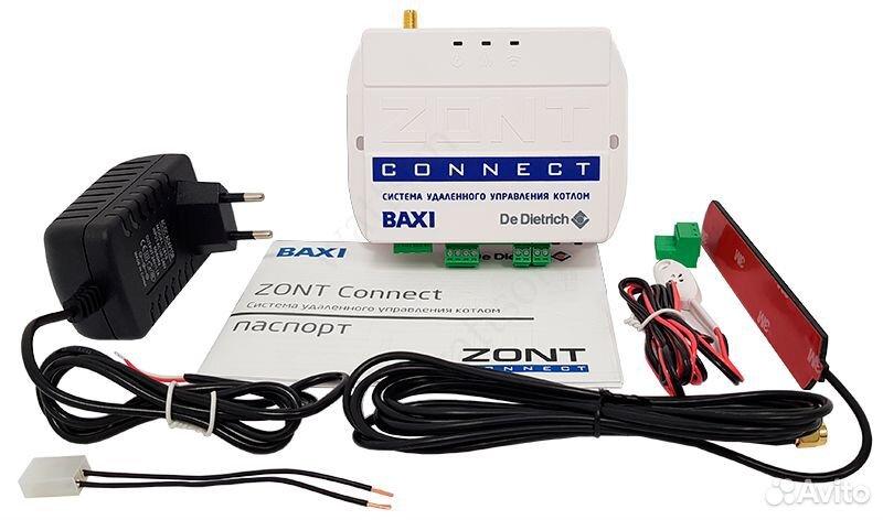 Zont connect GSM-термостат для газовых котлов baxi  89063367311 купить 1