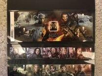 Марки с героями фильма Игра престолов