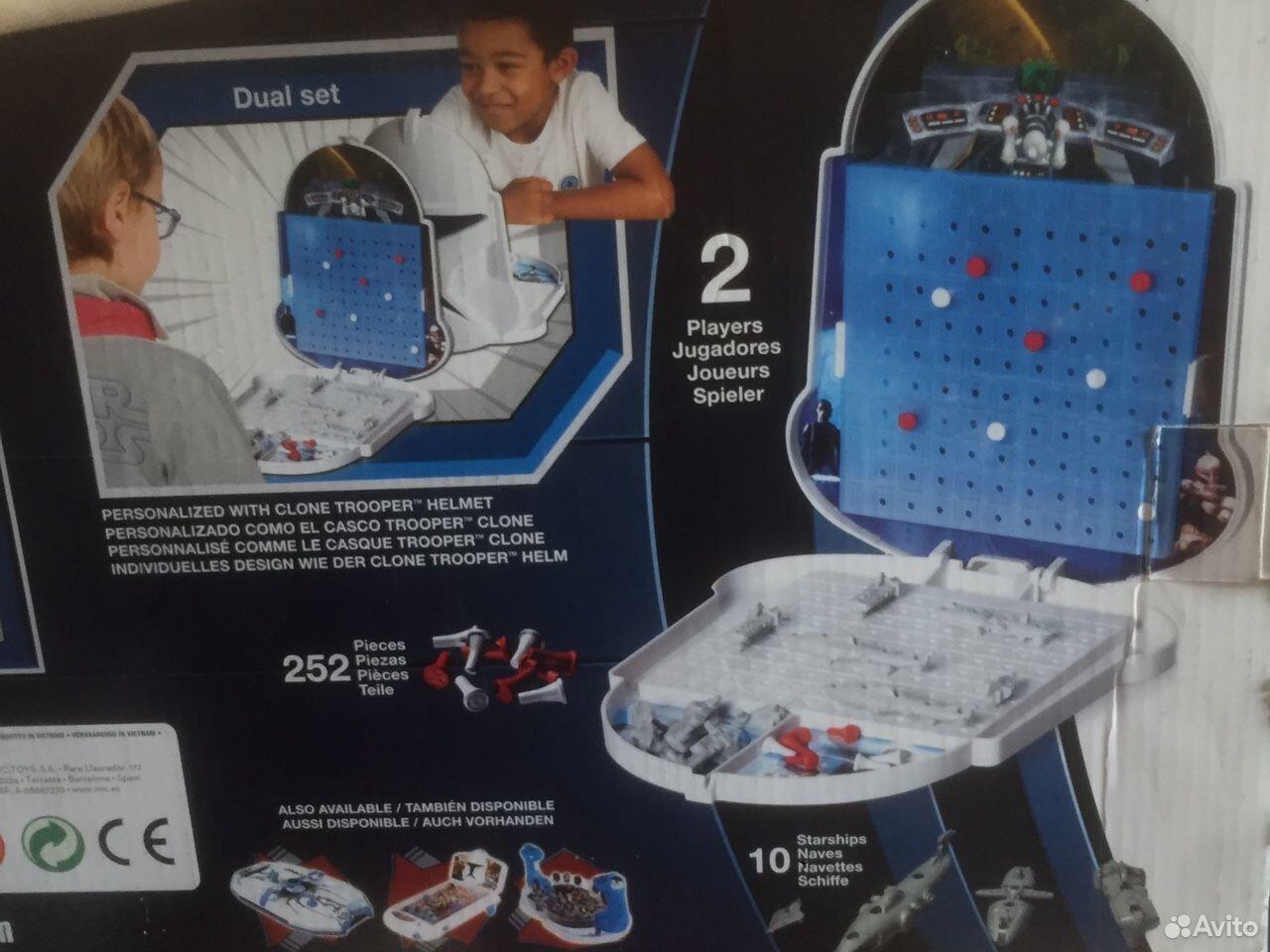 Игра настольная «Морской бой» Star Wars  89114658485 купить 3