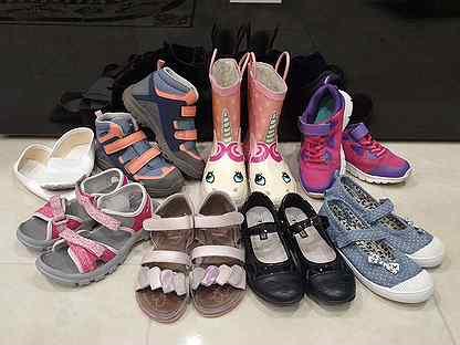 Обувь для девочки 31 размер все сезонные