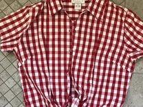 Рубашка ковбойская укороченная