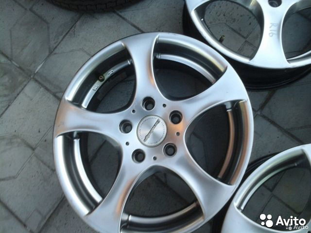 Made in Germany * R16 5x120 6.5J ET42 4 шт