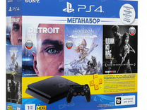 PS4 1tb (Detroit, LoU, Horizon, +3ps plus +1DS)