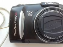 Canon PowerShot SX120IS + футляр
