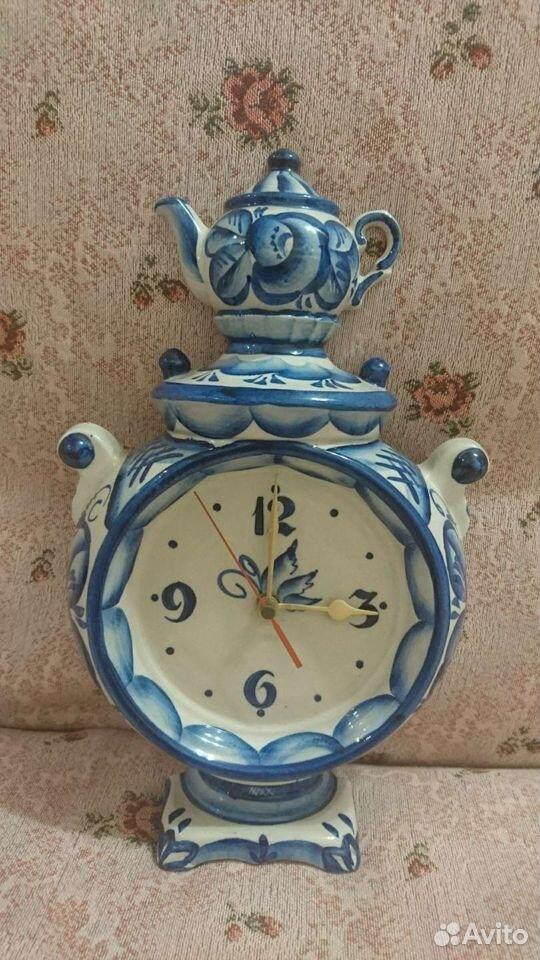Часы сувенирные в виде самовара  89110733451 купить 1