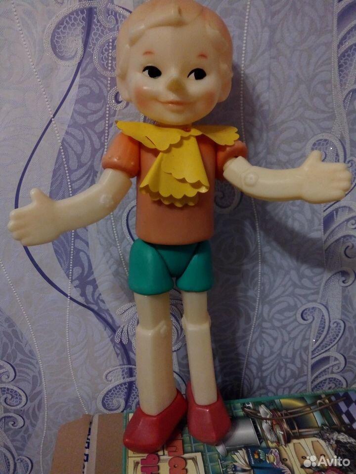 Кукла Буратино СССР  89102690697 купить 1