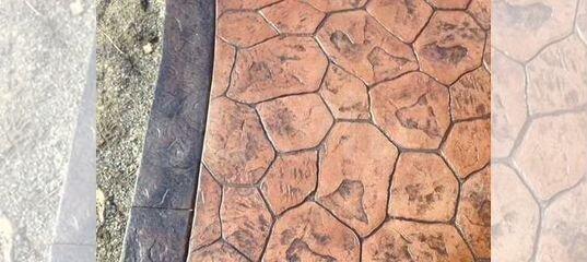 Штамп для бетона купить в воронеже енир подача бетонной смеси