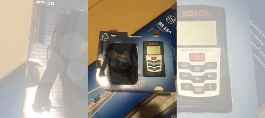 Bosch Entfernungsmesser Dle 70 : Дальномер bosch dle 70 professional купить в Ивановской области на