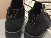 Ботинки осень женские 37-38 размер — Одежда, обувь, аксессуары в Новосибирске