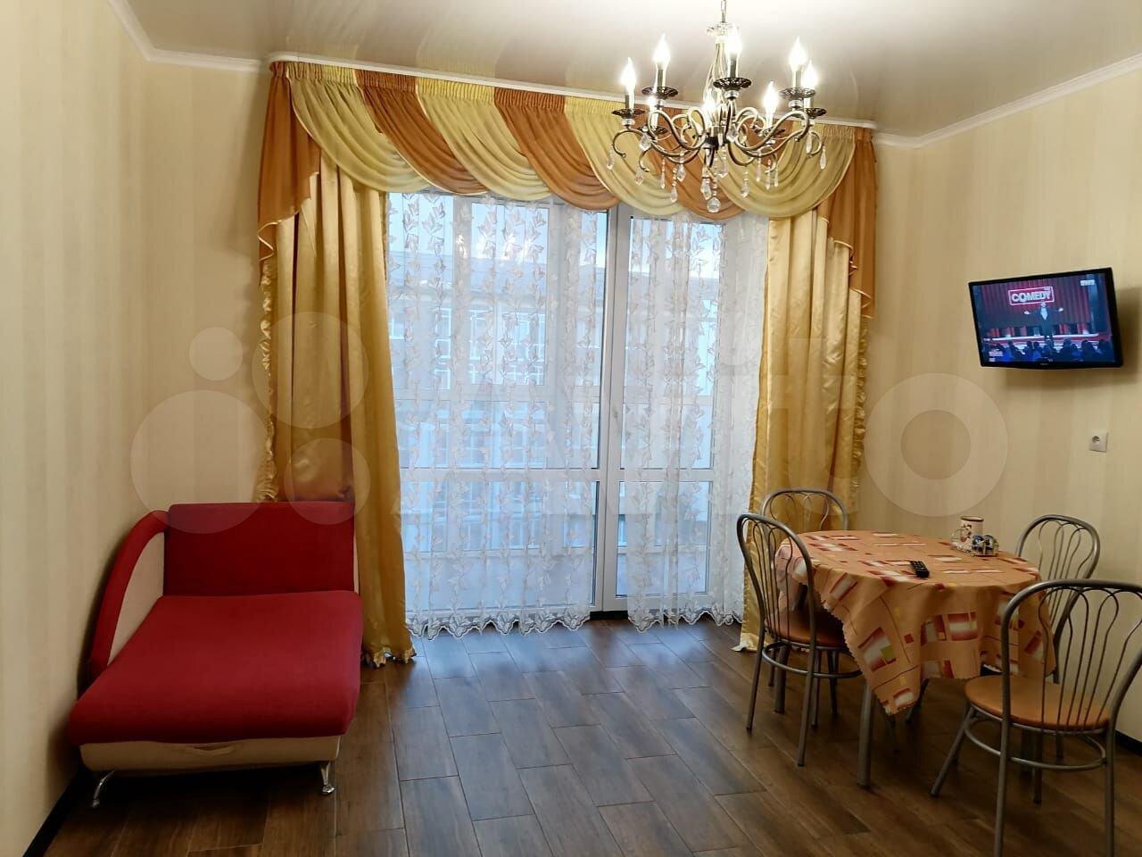 1-rums-lägenhet 48 m2, 4/5 golvet.