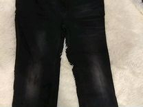 Джинсы мужские темно-серые почти новые