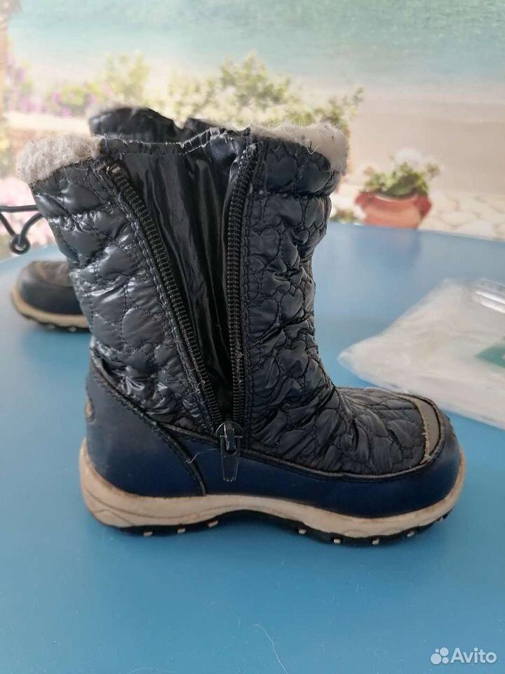Зимние ботиночки Котофей 25 размер