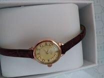 Мужские золотые наручные часы Ника