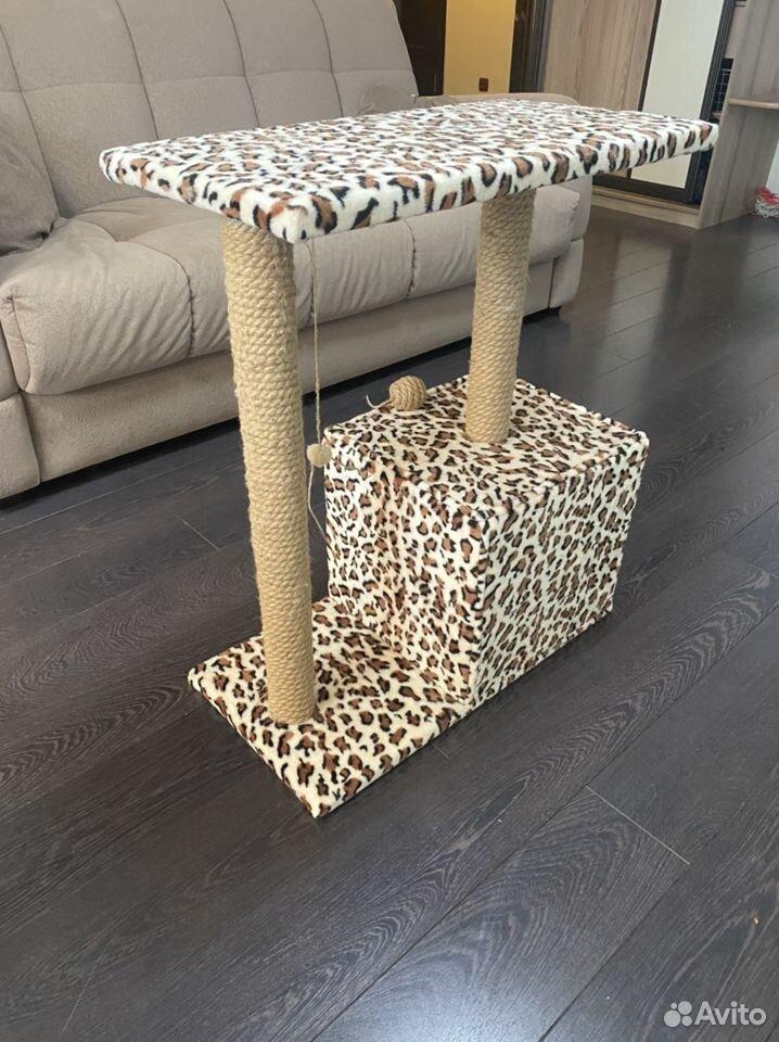 Когтеточка домик для кошки бу