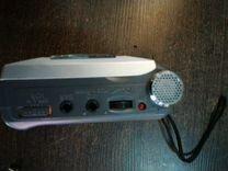 Аудио плеер Sony. Пишущий