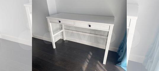 Стол письменный IKEA Белый купить в Санкт-Петербурге   Товары для дома и дачи   Авито